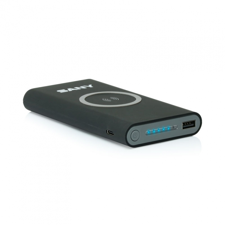 Wireless charging powerbank 8000 mAh